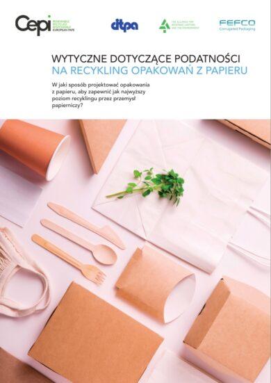 Wytyczne dot. podatności na recykling opakowań z papieru